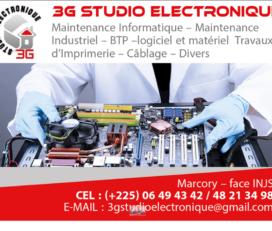 3G STUDIO ÉLECTRONIQUE